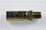 "1/4"" NPT(M) Fixed 1/4"" Hose End"